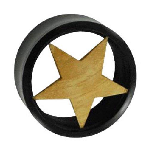 Flesh Tunnel - Wood Star