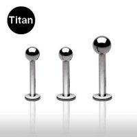 Titan Piercing Labret - Kugel