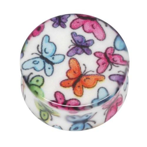 Neo Pop Plug - Schmetterlinge