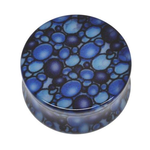 Neo Pop Plug - Blubberblasen blau