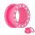 Flesh Tunnel - Kunststoff - Pink - Kristall