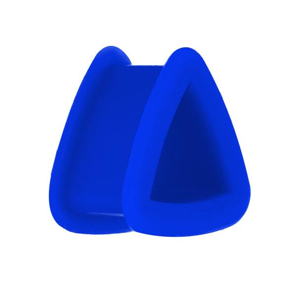 Silikon Dreieck Tunnel - Blau