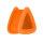 Silikon Dreieck Tunnel - Orange