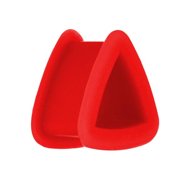 Silikon Dreieck Tunnel - Rot