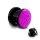 Glitzer Plug - Pink