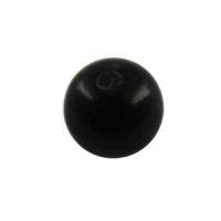 Piercing Kugel - Kunststoff - Schwarz