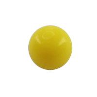 Piercing Kugel - Kunststoff - Gelb