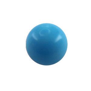 Piercing Kugel - Kunststoff - Hellblau