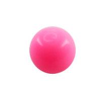 Piercing Kugel - Kunststoff - Pink