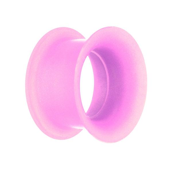Flesh Tunnel - Silikon - Metallic - Pink