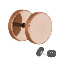 Piercing Fake Plug - Rosegold