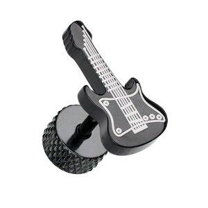 Fake Plug - Schwarz - Gitarre