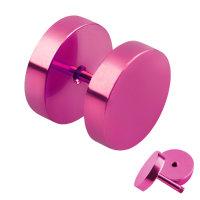 Piercing Fake Plug - Pink