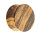 Holz Ohr Plug - Braun - Zebrano