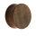 Holz Ohr Plug - Dunkelbraun - Nussbaum