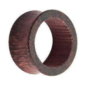 Holz Flesh Tunnel - Braun - Lila - Amaranth