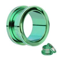 Flesh Tunnel - Metallic - Grün - Blau