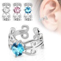 Ear Cuff - Verzierung - Kristall