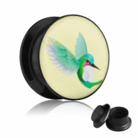 Picture Plug - Gewinde - Kolibri