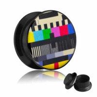 Picture Plug - Gewinde - TV Testbild