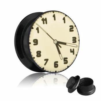 Picture Plug - Gewinde - Uhr