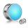 LED Plug - Blau