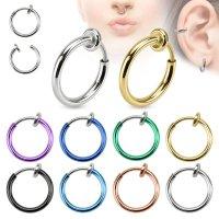 Fake Piercing - Ring - Bunt