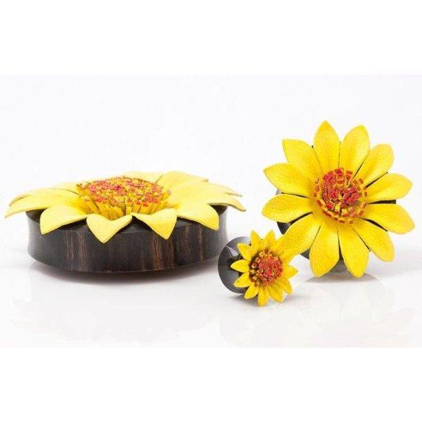 Horn Plug - Blume - Gelb