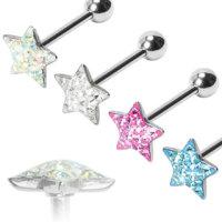 Piercing Stab - Kristall - Stern