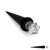 Magnet Fake Dehner - Schwarz - Kristall