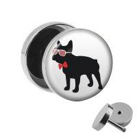 Motiv Fake Plug - Bulldogge - Mann
