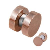 Magnet Fake Plug - Stahl - Rosegold