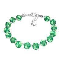 Armband - Perlen - Grün