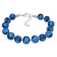 Armband - Perlen - Blau