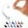 Nasenpiercing gebogen - Bioflex - Weiss