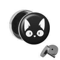 Motiv Fake Plug - Comic Katze