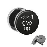 Motiv Fake Plug - dont give up