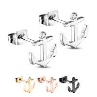 Anker Ohrstecker Set | 925 Sterling Silber Ohrringe mit...