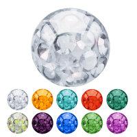 Multi-Kristall-Kugel - verschiedene Größen...