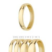 Goldring aus Edelstahl | glänzend | Damen und Herren