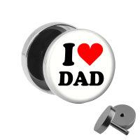 Motiv Fake Plug - I love Dad