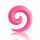 Dehner - Schnecke - Kunststoff - Pink