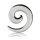 Dehner - Schnecke - Kunststoff - Durchsichtig