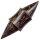 Flesh Ohr Plug - Horn - Palmholz - Kegel