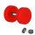 Piercing Fake Plug - Kunststoff - Rot