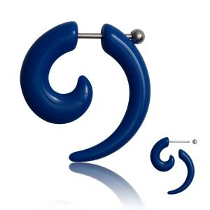 Fake Dehnungssichel - Kunststoff - Blau