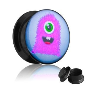 Picture Plug - Gewinde - Monster