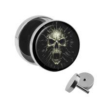Motiv Fake Plug - Screaming Skull