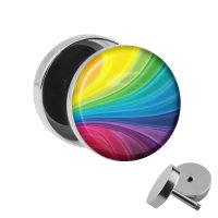 Motiv Fake Plug - Regenbogen