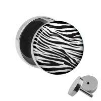 Motiv Fake Plug - Zebra